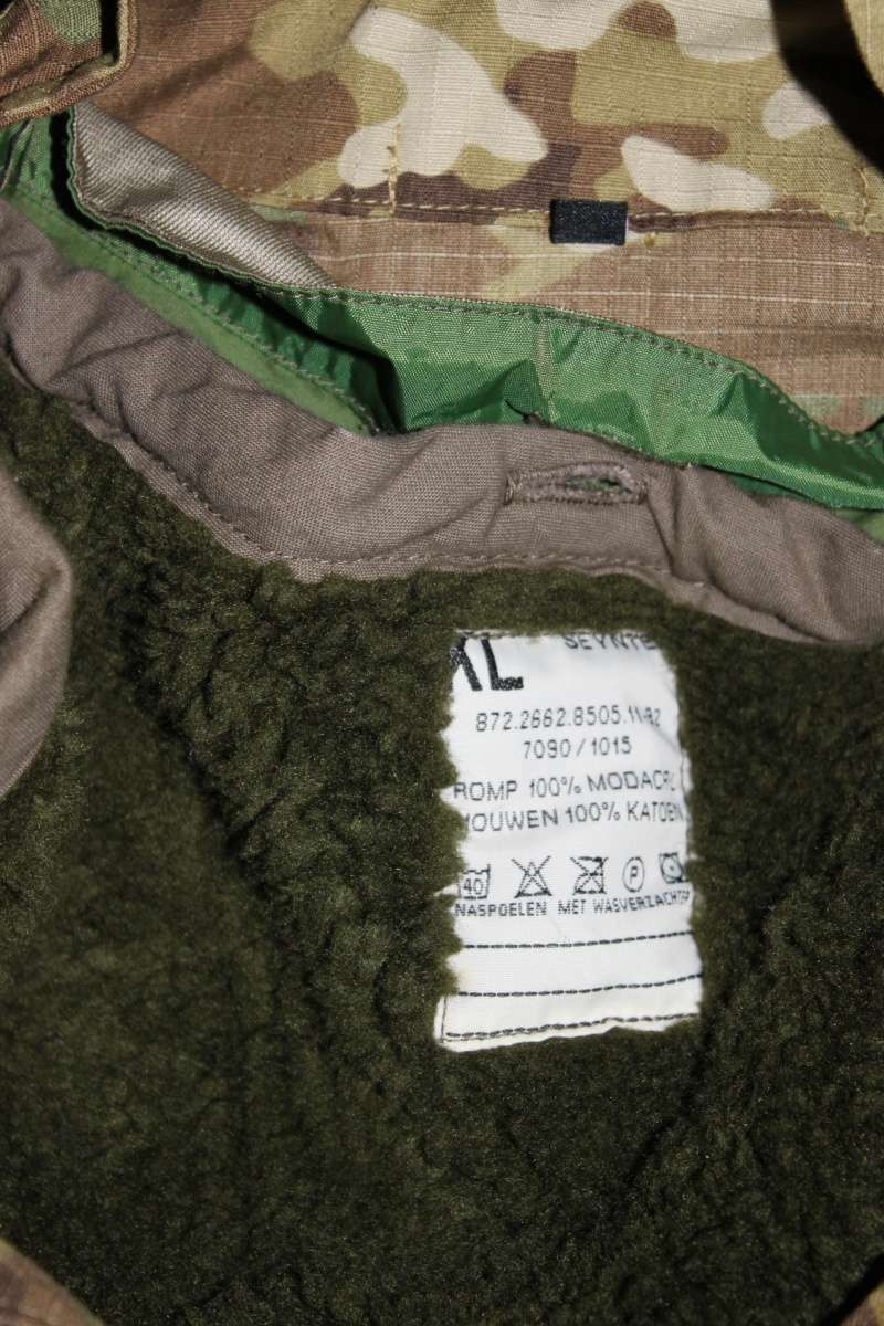 Dutch Multicam Ripstop Parka with Liner and Gore-Tex Laminate Img_4520