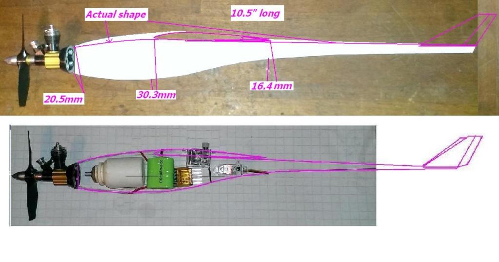 Cox .01 /.02 /.05 /.09 /.15 Speed Planes  Nano__10