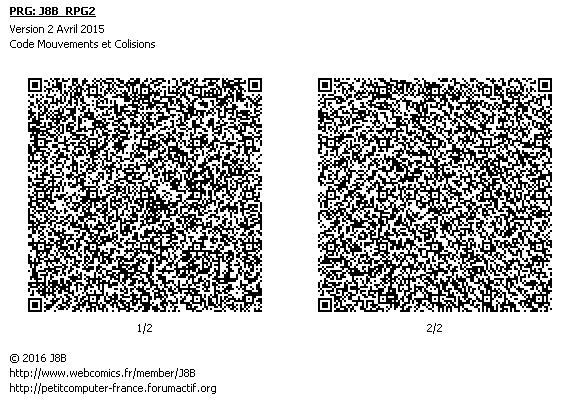[Code]Mouvement case par case et collisions Code_m10