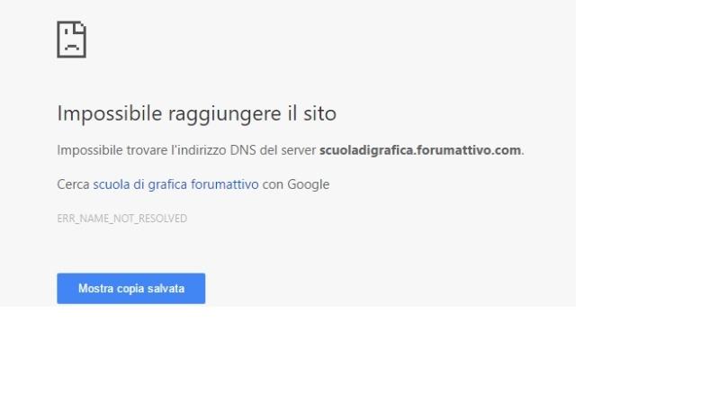 Impossibile accedere al forum  Cc10