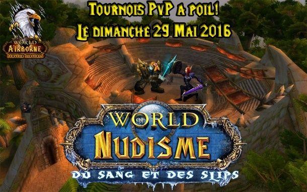 Tournois PvP pour voyeur! Nudism11