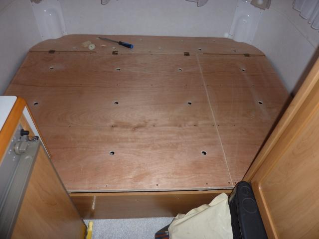 Un sommier maison pour un lit confortable P1140221