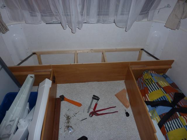 Un sommier maison pour un lit confortable P1140222
