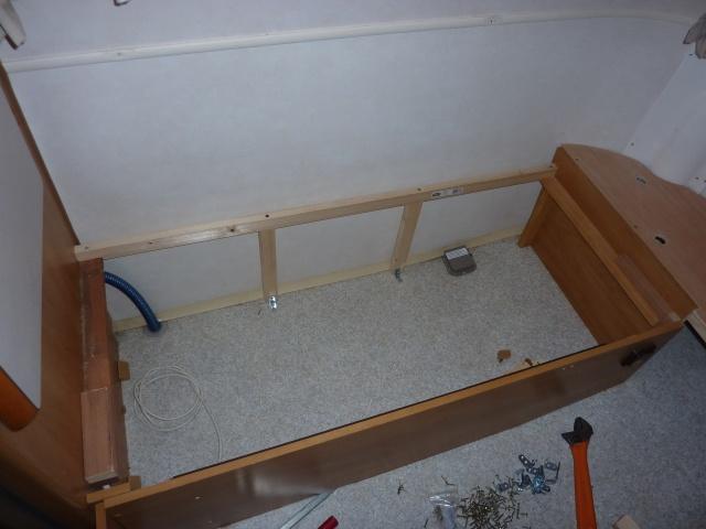 Un sommier maison pour un lit confortable P1140223