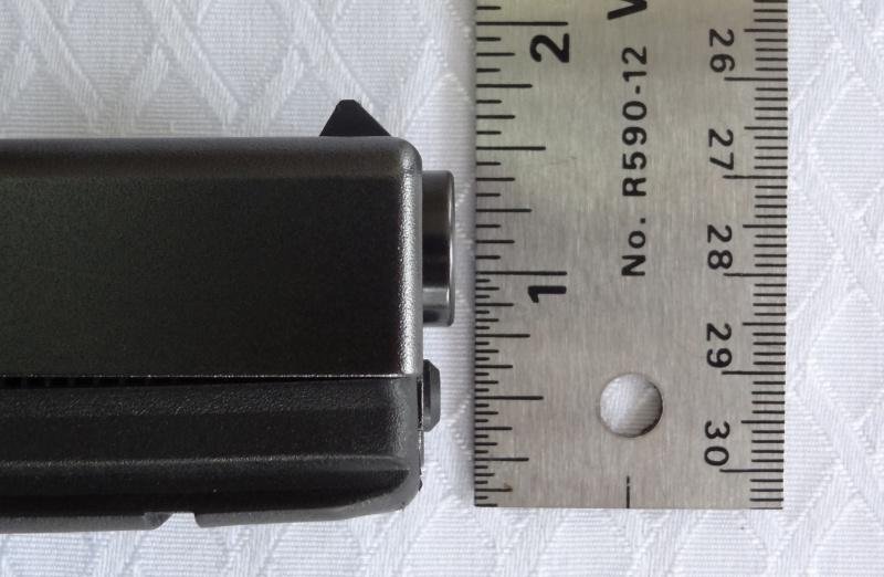 """Side by Side: Beretta """"92FS Inox"""" vs Glock """"G22 gen 3""""  29-glo10"""