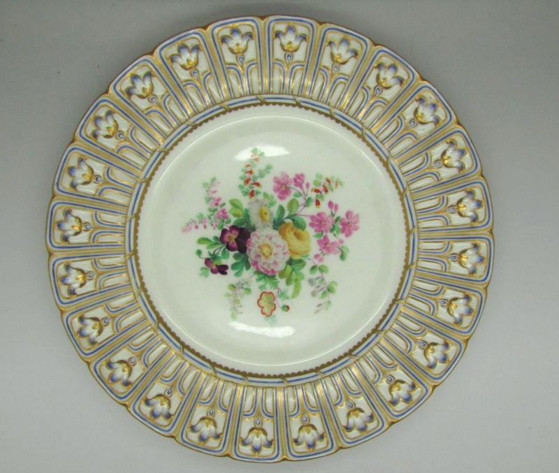 Thought on Antique porcelain plates ... English or German ?? Img_9510