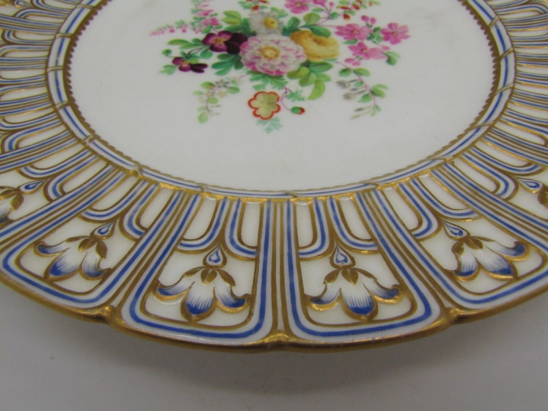 Thought on Antique porcelain plates ... English or German ?? Img_9511