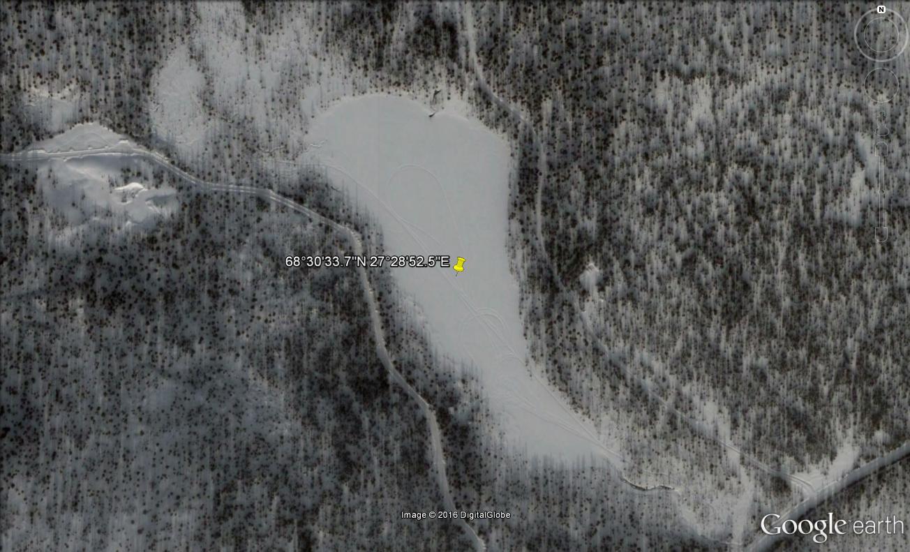 STREET VIEW : les cartes postales de Google Earth - Page 62 Lac_au10