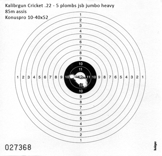 Kalibrgun Cricket 85m suite 2016-010