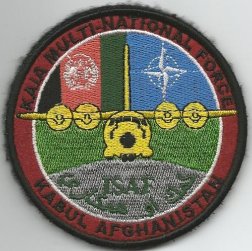 ISAF Patch, Kabul, Afghanistan Isaf_p10