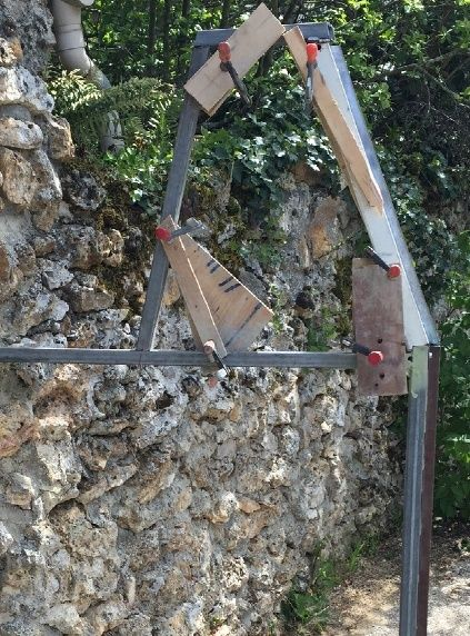 Porte métallique sous-sol sur mesures Ossatu12