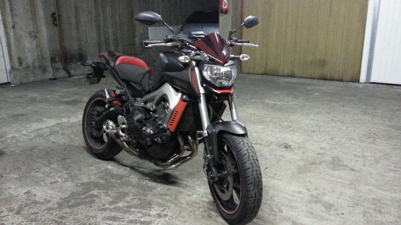 MT 09 MOTO CAGE : Mat Grey noire et rouge ;-) - Page 2 Dsc_0610