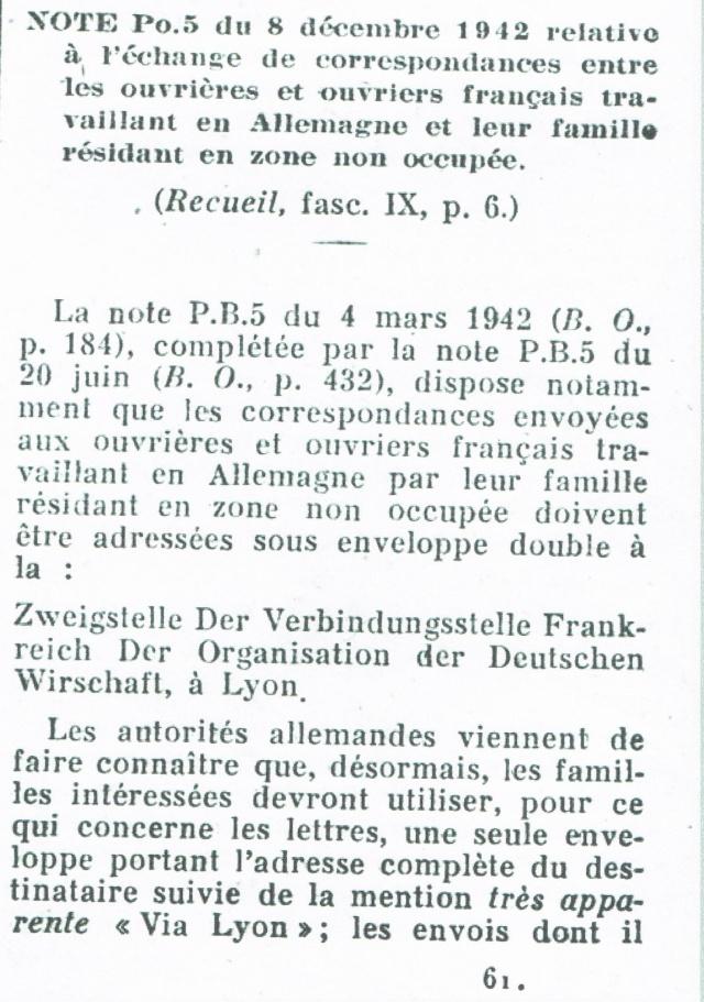 Entier Pétain 1F20 oblitération bouchon pour un STO. Ccf12012