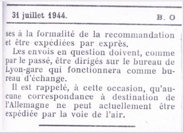 Entier Pétain 1F20 oblitération bouchon pour un STO. Ccf12015