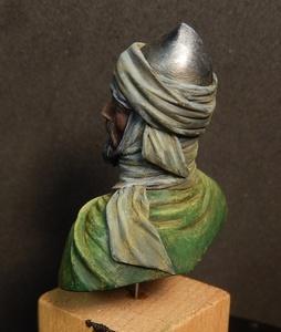 Archer sarasin de Sicilie, 11e-13e siècle, Monreale Dscn9811