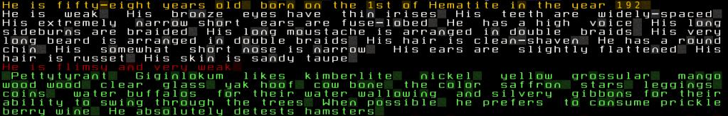 """Itebmozir, """"Postrouts"""" A Dwarf Fortress Story Petty210"""