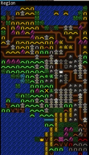 """Itebmozir, """"Postrouts"""" A Dwarf Fortress Story Region11"""