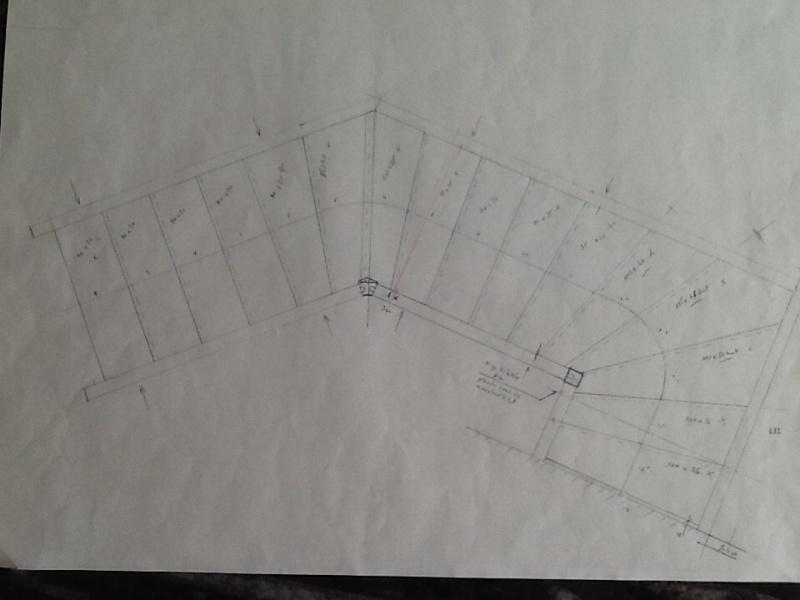 Escalier provisoire devenu définitif en pin sylvestre, à double balancements Image16
