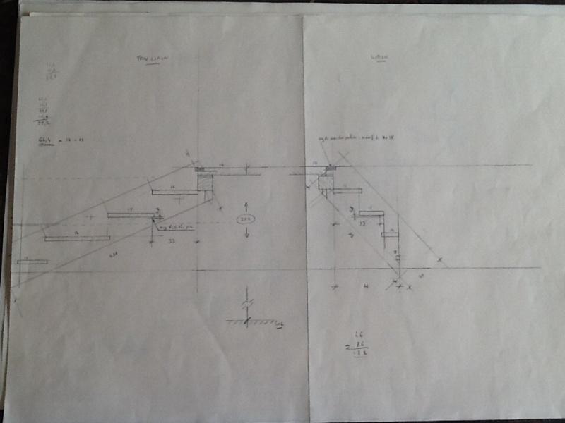 Escalier provisoire devenu définitif en pin sylvestre, à double balancements Image20