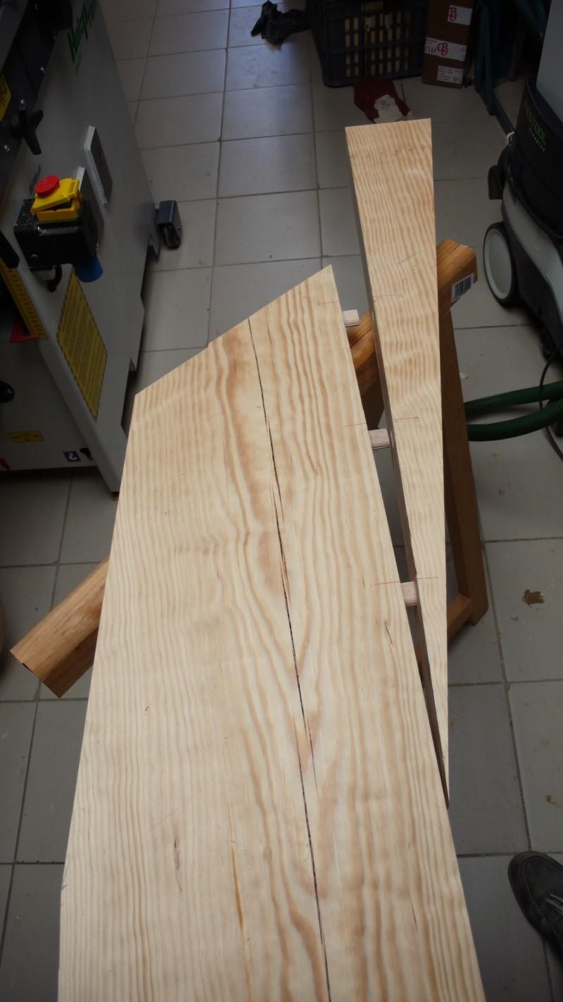 Escalier provisoire devenu définitif en pin sylvestre, à double balancements - Page 3 Image26