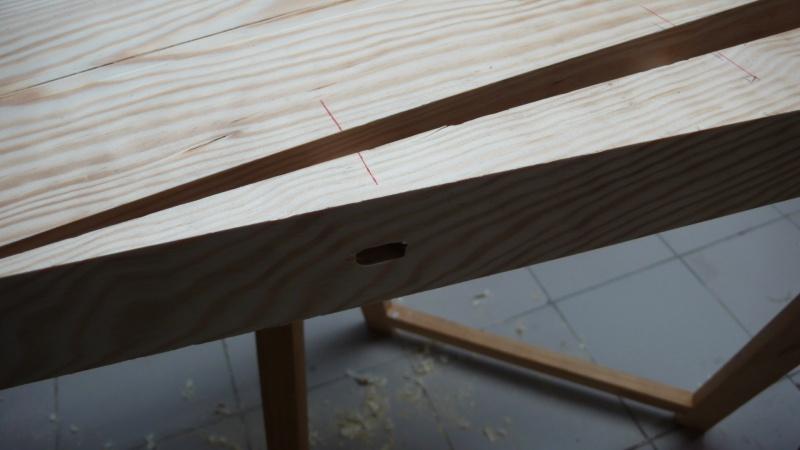 Escalier provisoire devenu définitif en pin sylvestre, à double balancements - Page 3 Image27