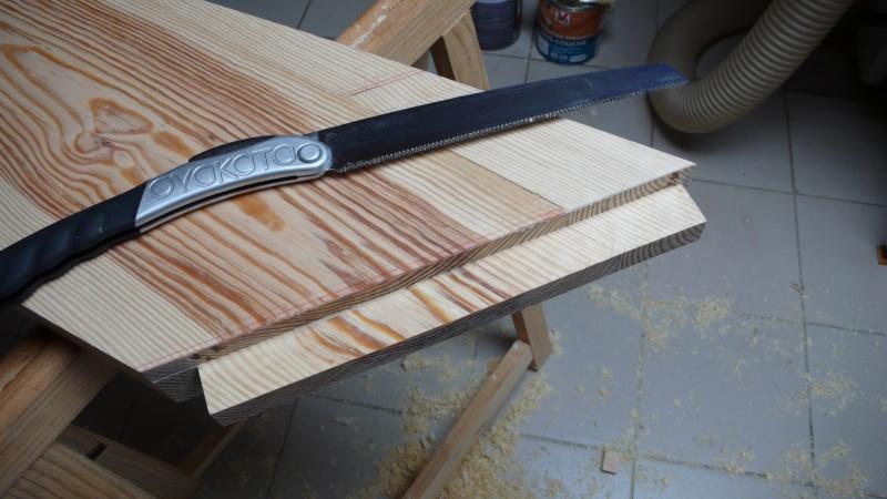 Escalier provisoire devenu définitif en pin sylvestre, à double balancements - Page 3 Image31