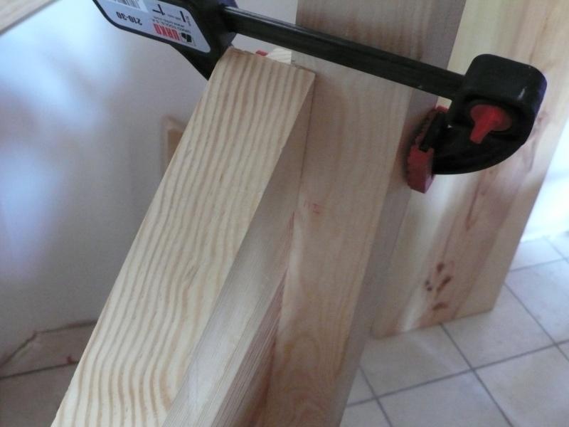 Escalier provisoire devenu définitif en pin sylvestre, à double balancements - Page 3 Image33