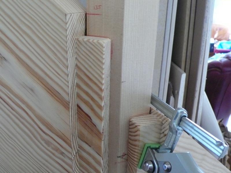 Escalier provisoire devenu définitif en pin sylvestre, à double balancements - Page 3 Image34