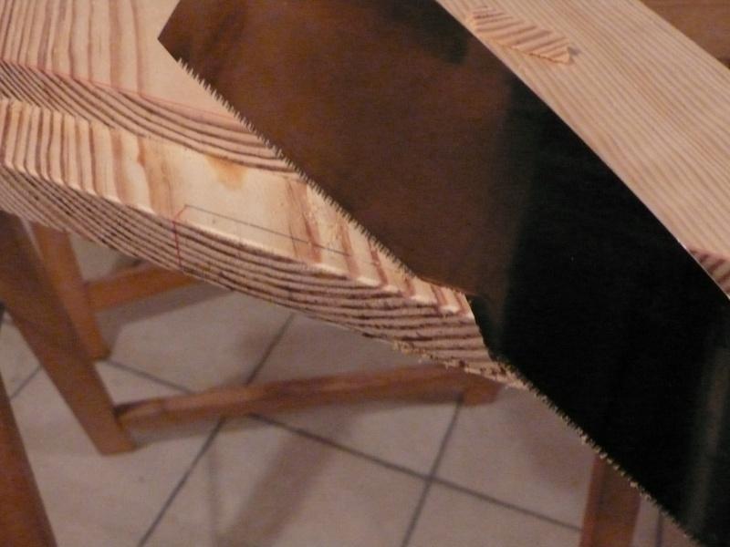 Escalier provisoire devenu définitif en pin sylvestre, à double balancements - Page 3 Image40