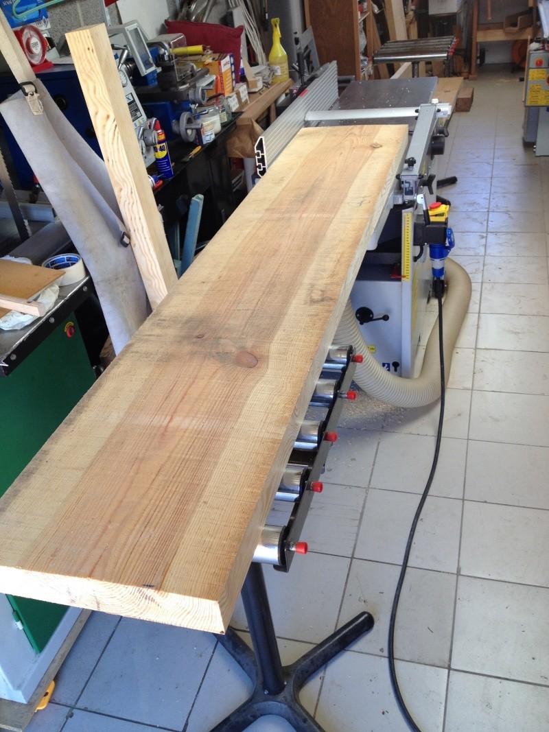 Escalier provisoire devenu définitif en pin sylvestre, à double balancements Img_0810