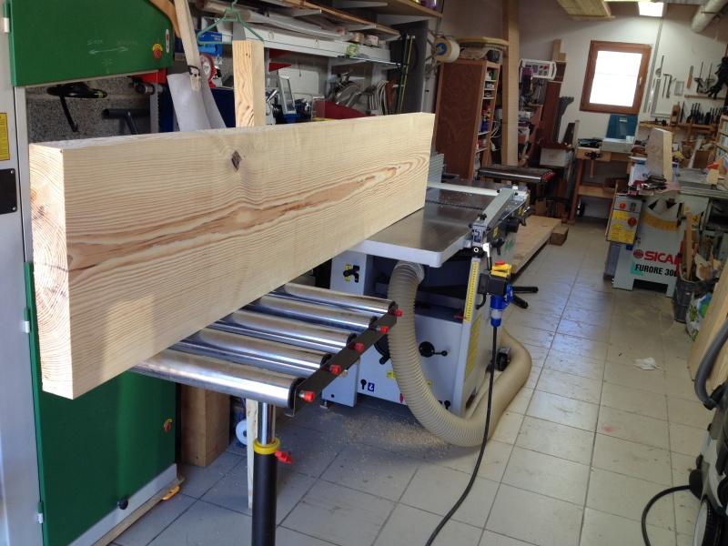 Escalier provisoire devenu définitif en pin sylvestre, à double balancements Img_0811