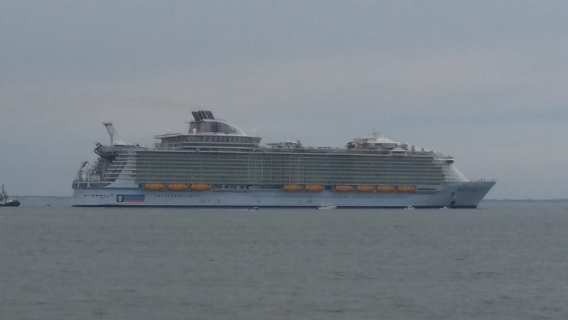 essai en mer du Harmony of the Seas 20160416