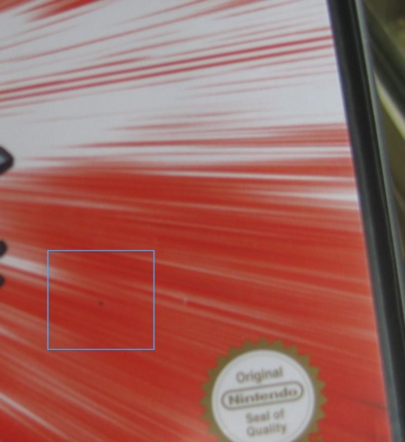 Enlever encre stylo sur jaquette jeu gamecube Img_3413