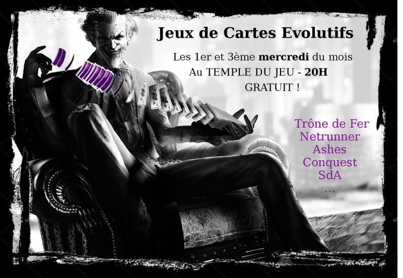 [Rennes] Soirée JCE au TDJ Jocker10