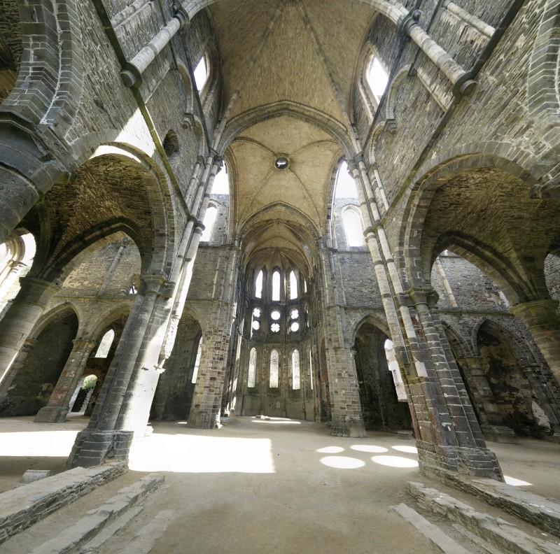 Balade dans l'Abbaye de Villers-La-Ville  Pano_210