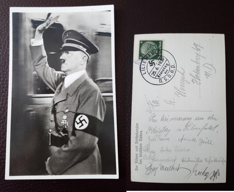 Bewertung Postkarten  110