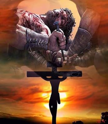 Aujourd'hui Vendredi saint : Jésus est mort pour nous sauver. 12523912