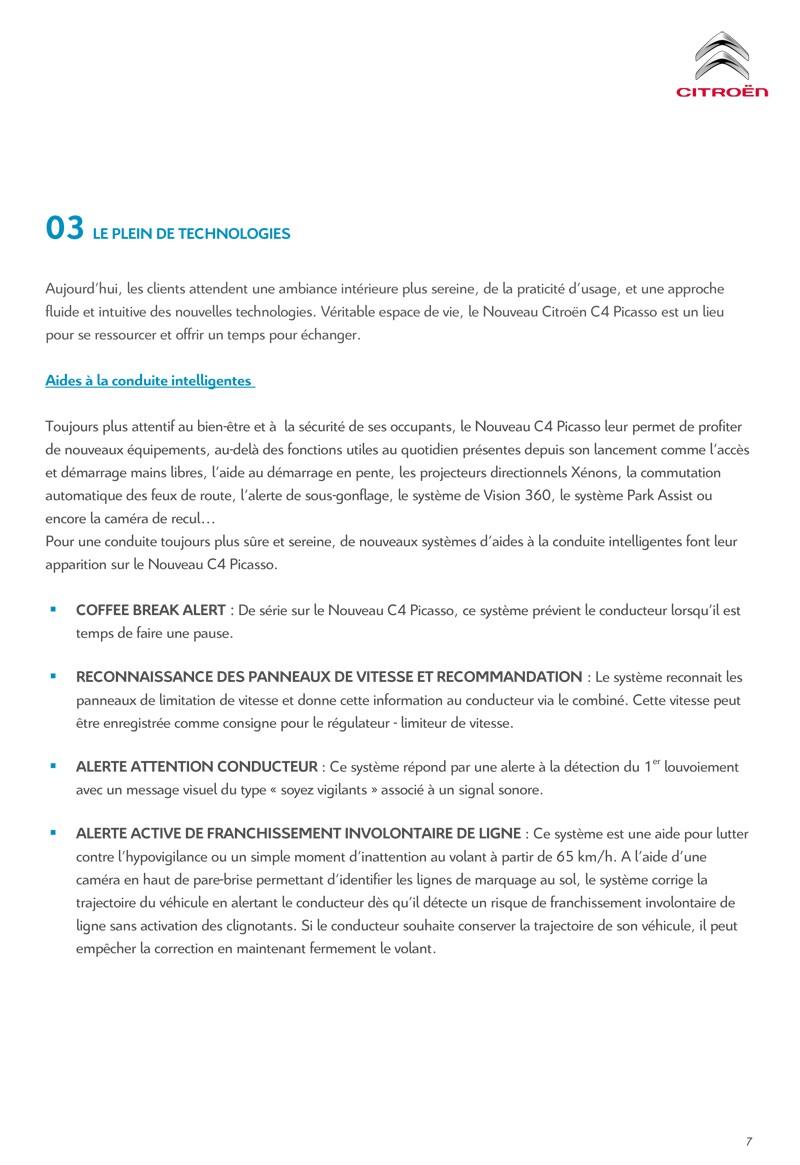 [SUJET OFFICIEL] Citroën C4 / Grand C4 Picasso II restylé - Page 2 Diffus10