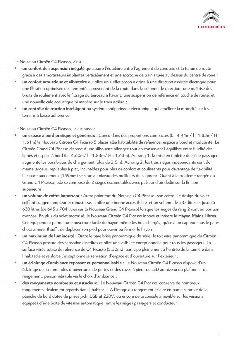 [SUJET OFFICIEL] Citroën C4 / Grand C4 Picasso II restylé - Page 2 Diffus13