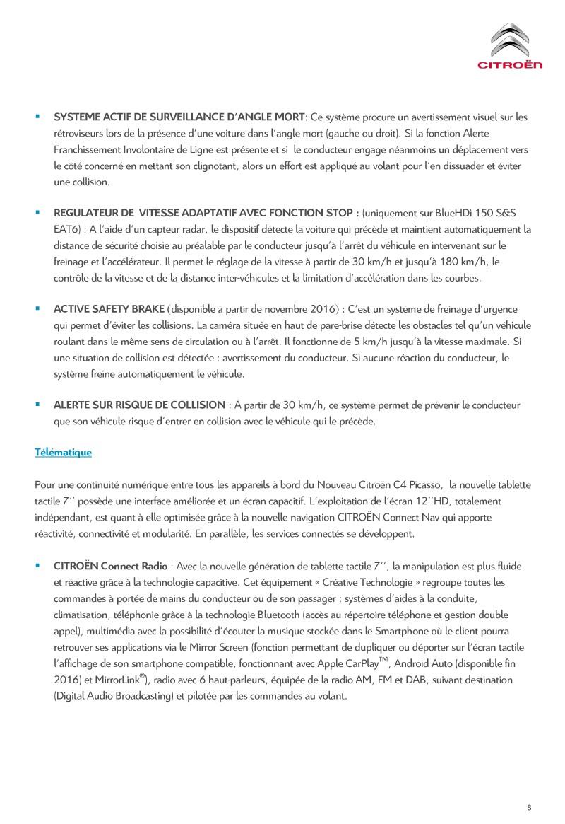 [SUJET OFFICIEL] Citroën C4 / Grand C4 Picasso II restylé - Page 2 Diffus14