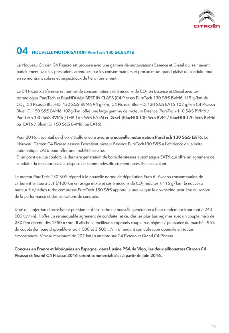 [SUJET OFFICIEL] Citroën C4 / Grand C4 Picasso II restylé - Page 2 Diffus15
