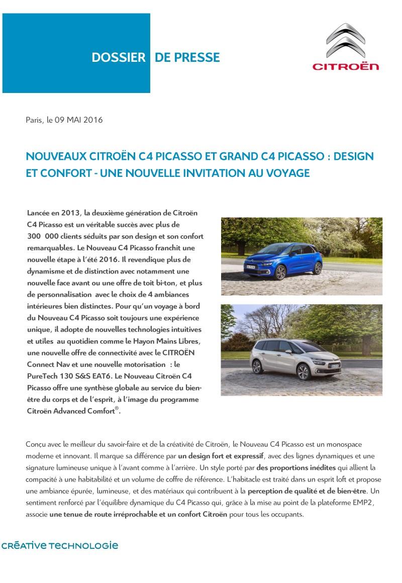 [SUJET OFFICIEL] Citroën C4 / Grand C4 Picasso II restylé - Page 2 Diffus17