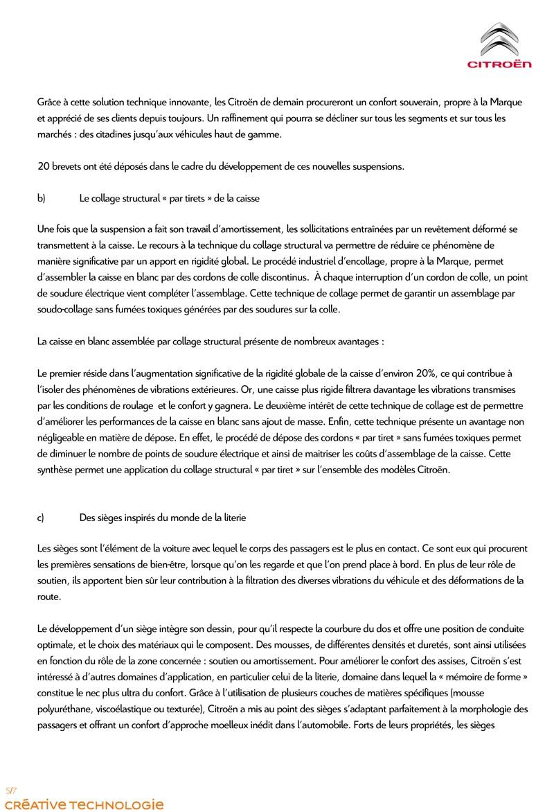 [INFORMATION] Programme Citroën Advanced Comfort Pour_d13