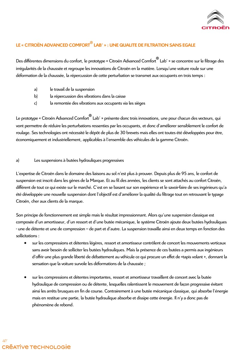 [INFORMATION] Programme Citroën Advanced Comfort Pour_d14