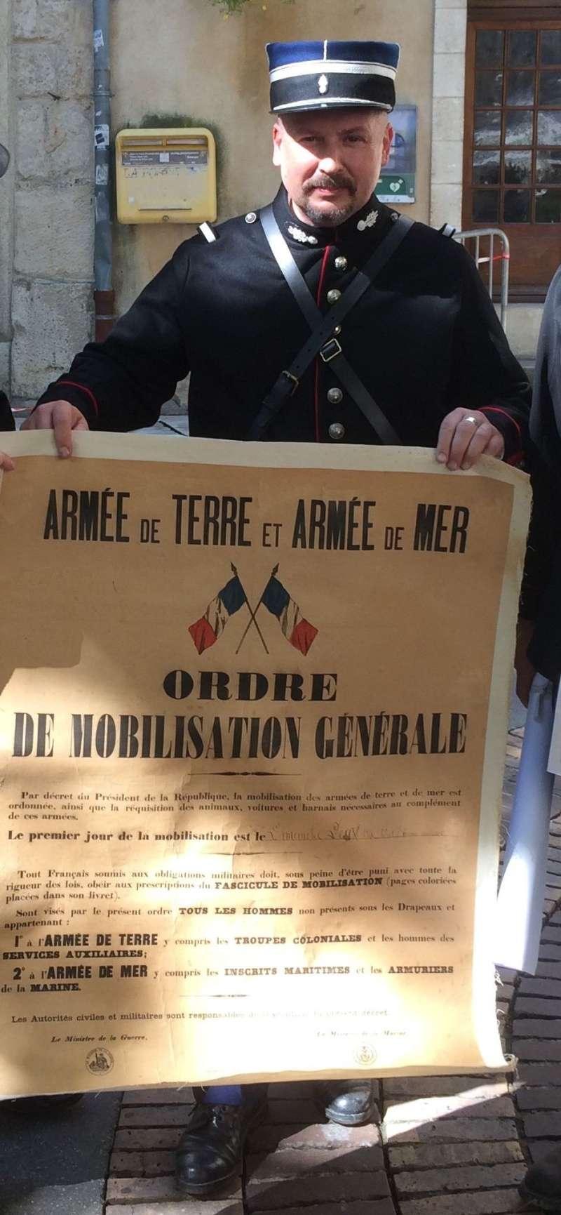ORDRE DE MOBILISATION 1914/2014 Affich10