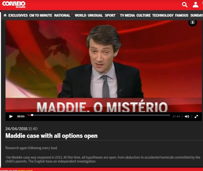Madeleine McCann parents still under investigation in Portugal  Cmtv10