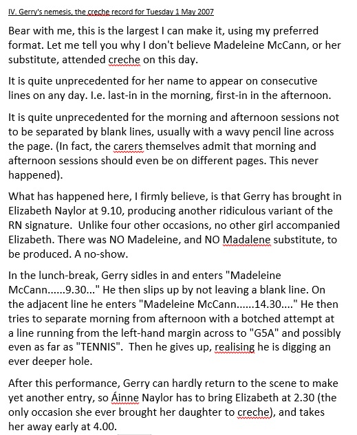 Madeleine and Ella - Is it possible that ONLY ONE CHILD was attending creche? - Page 3 May1pa10