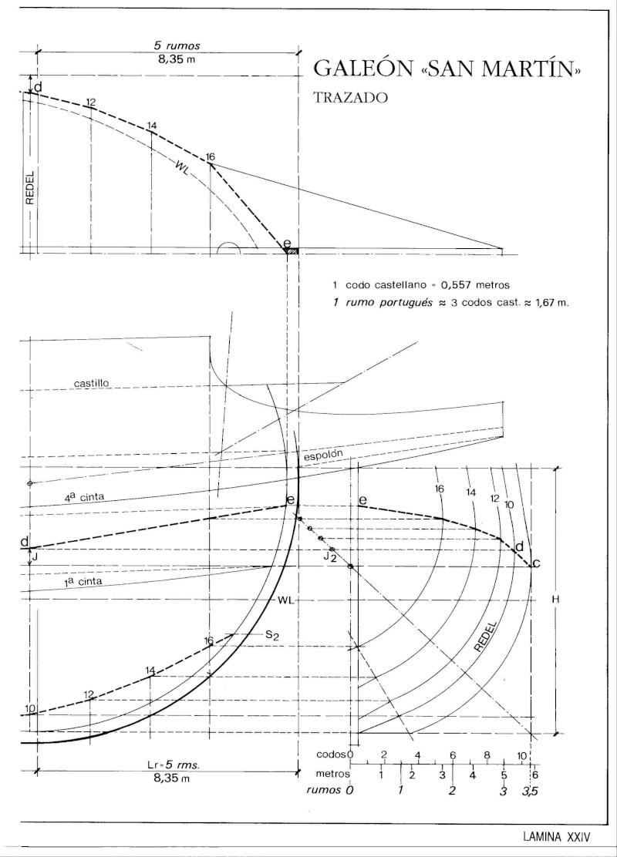HMAV Bounty de Del prado au 1/48ème - Page 11 Galeon11