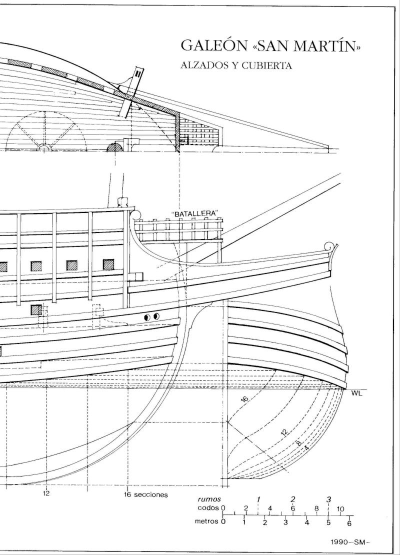 HMAV Bounty de Del prado au 1/48ème - Page 11 Galeon20