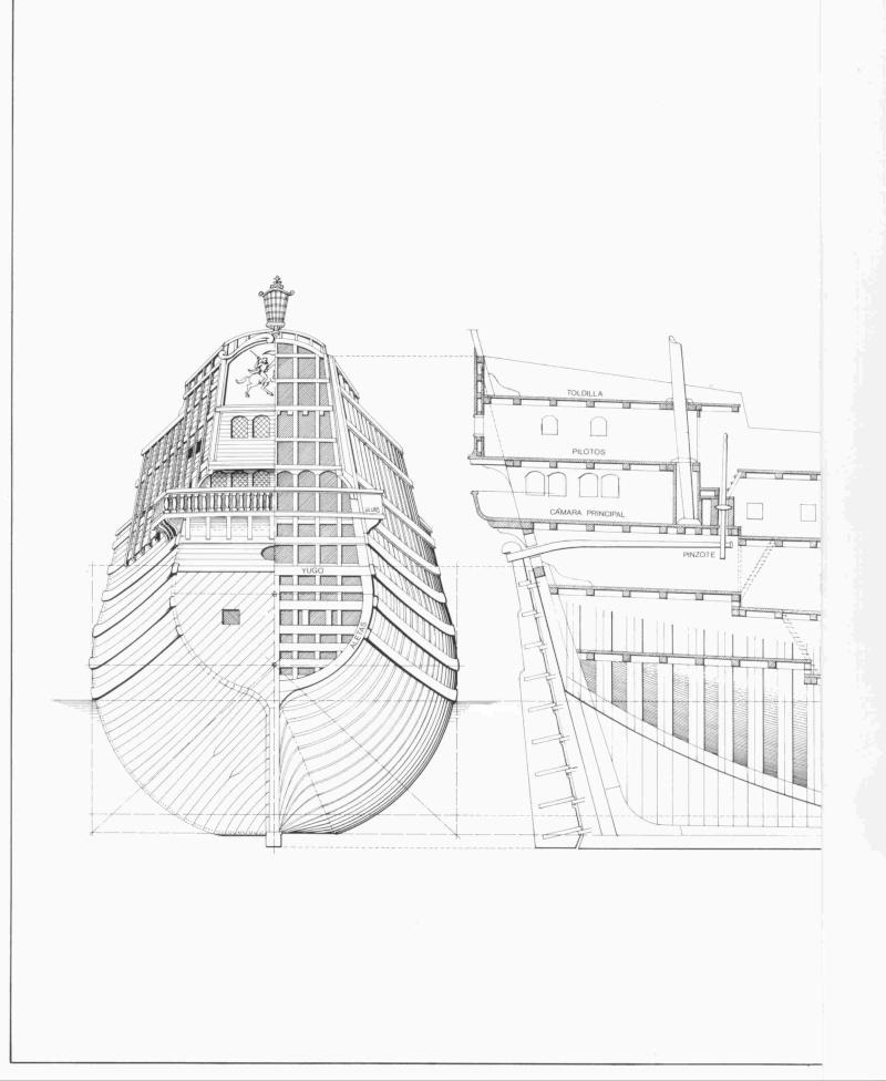 HMAV Bounty de Del prado au 1/48ème - Page 11 Galeon22